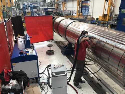 Laserové Čištění rotoru3